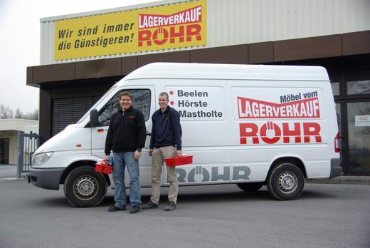 Lagerverkauf Röhr Lieferservice